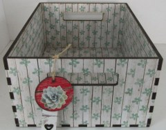 GREEN DAISY - CRATE - STORAGE