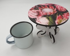 PROTEAS FULL BLOOM - MINI CAKE STAND - Also as Lrg stand