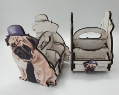 PUG - STATIONERY CADDY 153l x 120w x 195h R108