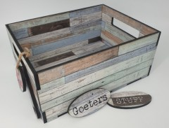 SHABBY CHIC BEACH DW - MED CRATE6